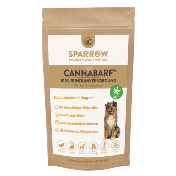 Sparrow PetCBD CannaBarf 100g