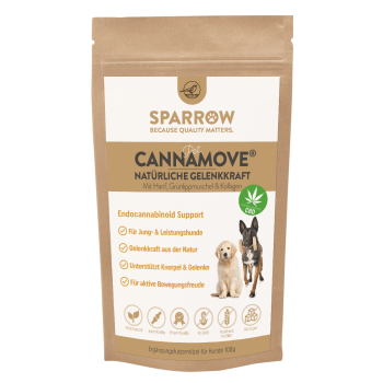 Sparrow PetCBD CannaMove 100g