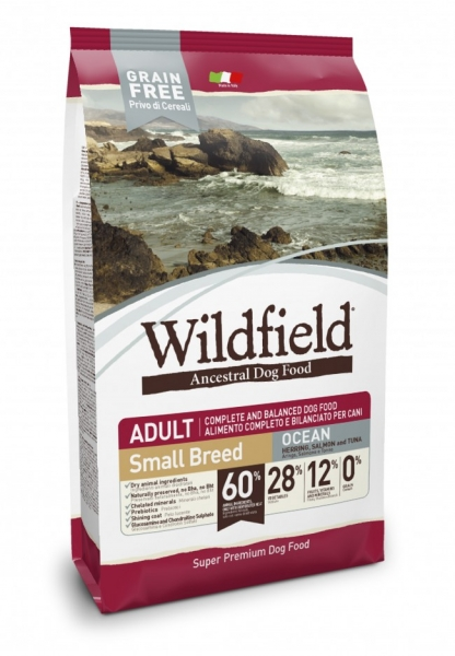 Wildfield Adult Ocean Small Breed 2kg