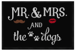Mr. and Mrs. and Dogs  (plural) 60x45 cm