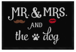 Mr. and Mrs. and Dog (singular)  60x45 cm